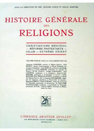 Histoire Générale des Religions