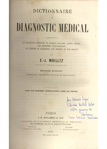Dictionnaire de Diagnostic Médical