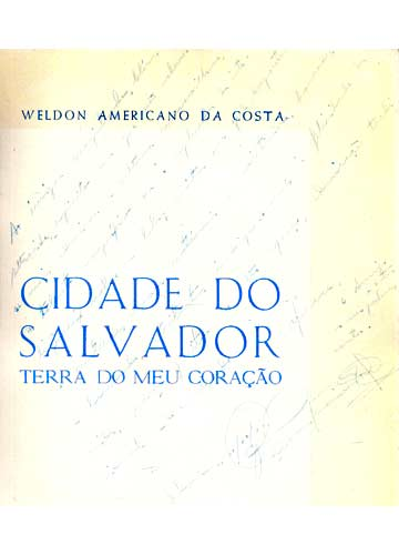 Cidade do Salvador - Com Autógrafo