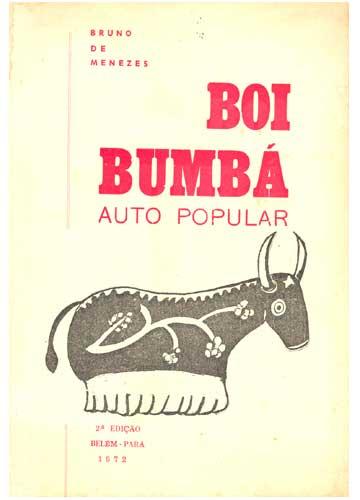 Livro - Boi Bumbá - Auto popular - Sebo do Messias