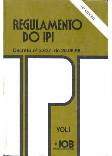 Regulamento do IPI - 2 Volumes