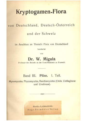 Flora Von Deutschland - Band VIII
