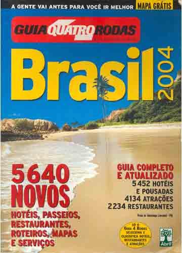 Guia Quatro Rodas - Brasil 2004