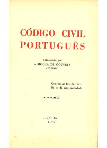 Código Civil Português - Actualizado