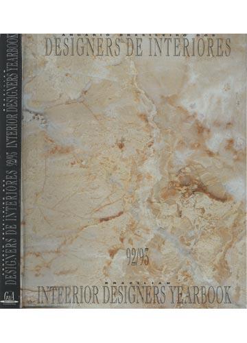 Anuário Brasileiro dos Designers de Interiores - 1992/1993 - Brazilian Interior Designers Yearbook