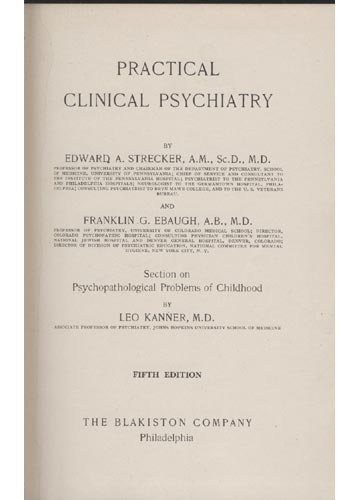 Practical Clinical Psychiatry