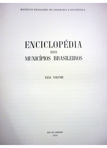 Enciclopédia dos Municípios Brasileiros - Volume XXXV - Mato Grosso