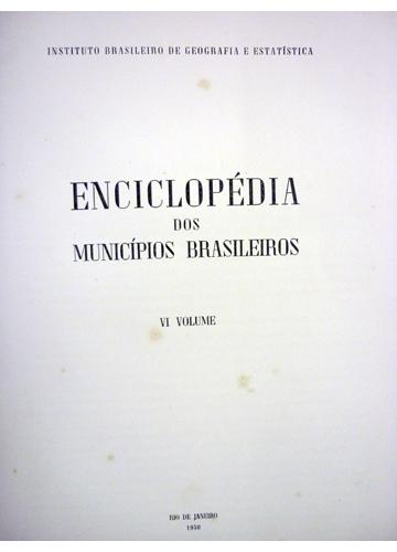 Enciclopédia dos Municípios Brasileiros - Volume VI