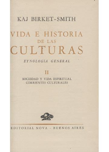 Vida e Historia de Las Culturas