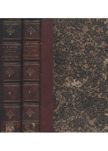 Histoire do Matérialisme - 2 Volumes
