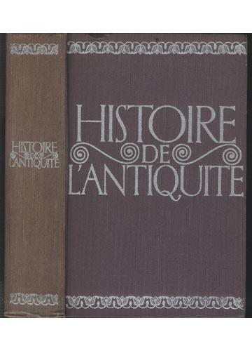 Histoire de L'Antiquite