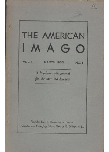 The American Imago - Volume 7 - Nº1