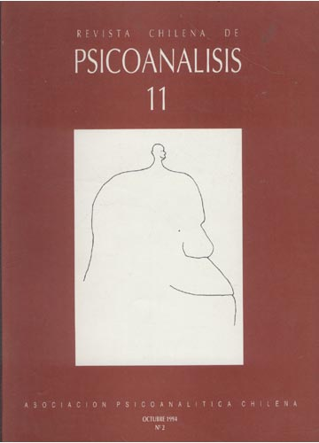 Revista Chilena de Psicoanalisis - Ano 1994 - Volume 11 - N°2