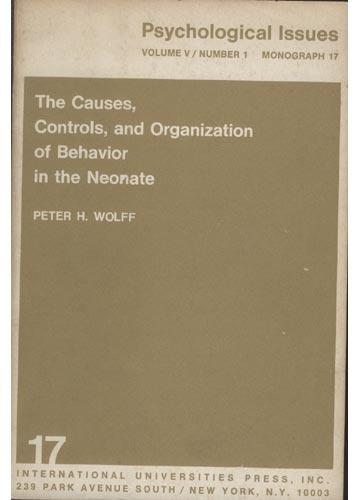 Psychological Issues 17 - Volume V - N°1