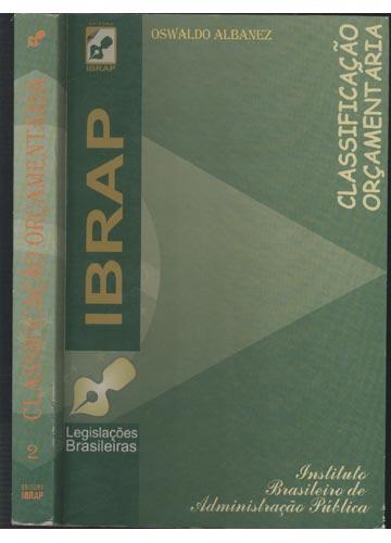 Classificação Orçamentária - Volume 2