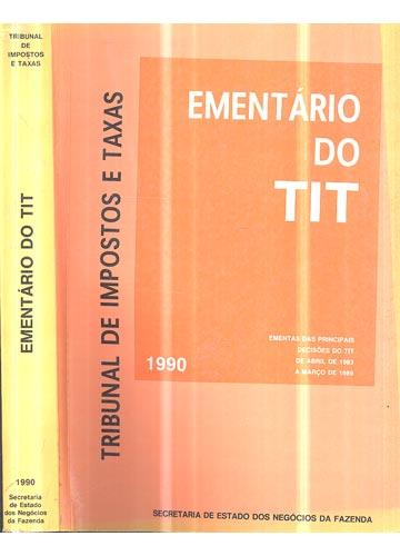 Ementário do Tit - 1990