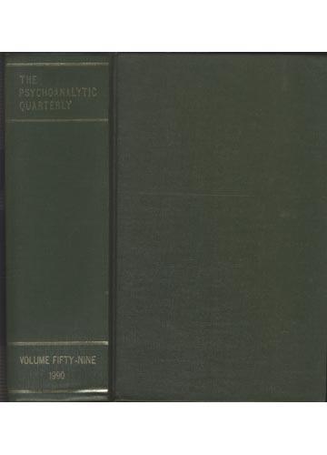 The Psychoanalytic Quarterly - Volume 59 - 1990