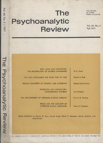 The Psychoanalytic Review - Volume 64 -  Nº 3