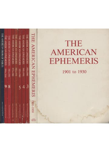 The American Ephemeris -  Volumes + Suplemento (faltando o volume 2)