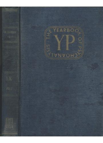 The Yearbook of Psychoanalysis - Volume IX
