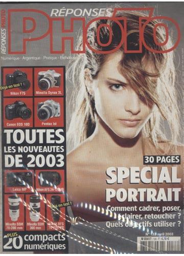 Réponses Photo - 2003- N°.133