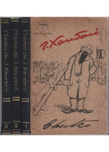 Chistes de J. Xaudaró - 3 Volumes