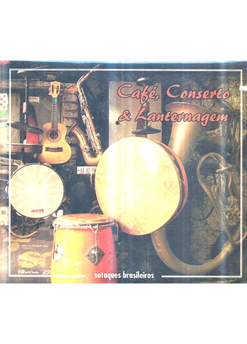 Café Conserto & Lanternagem - Sotaques Brasileiros *digipack*
