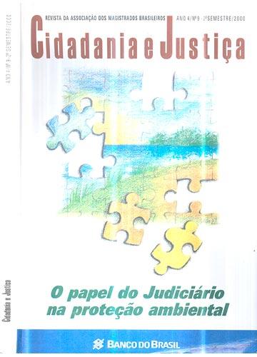 Cidadania e Justiça - Ano 4 - Nº.09 - 2ª Semestre / 2000