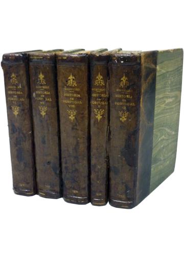 História de Portugal - 5 Volumes