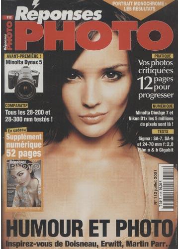 Réponses Photo - 2001 - N°.112