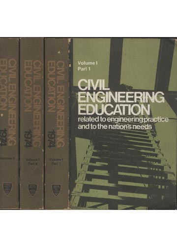 Civil Engineering Education - 2 Volumes em 3 tomos