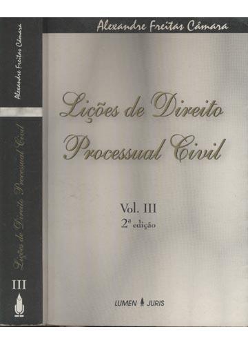 Lições de Direito Processual Civil - Volume 3