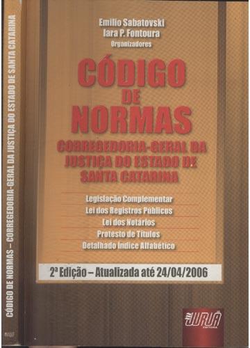 Código de Normas - Corregedoria-Geral da Justiça do Estado de Santa Catarina