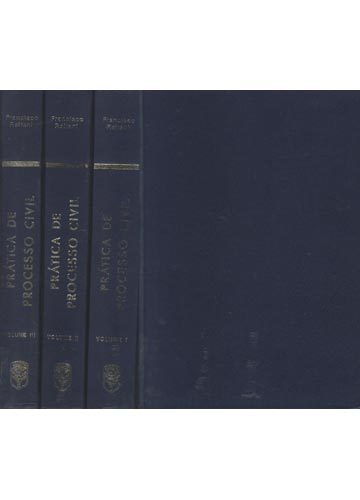 Prática de Processo Civil - 3 Volumes