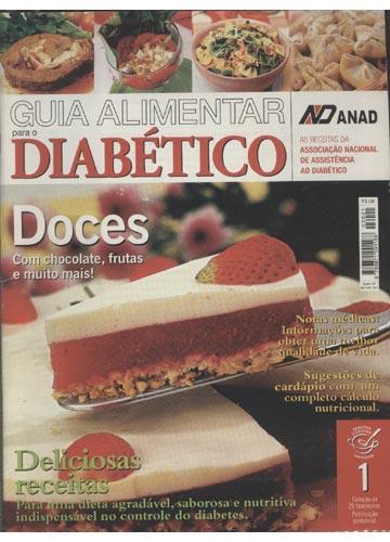 Guia Alimentar Para o Diabético - Nº.01 - Doces