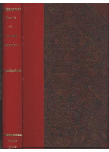 Memorie di Giacomo Casanova - 2 Volumes em 1 Tomo
