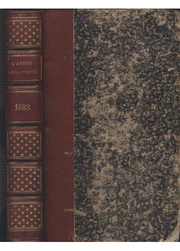 L'Année Politique 1883