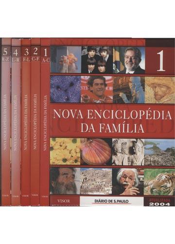Nova Enciclopédia da Família - 5 Volumes