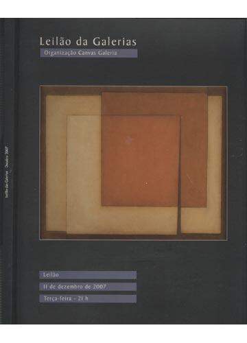 Leilão da Galerias - Outubro 2007
