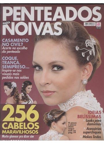 Penteados para Noivas - 2013 - Nº.01 - 256 Cabelos Maravilhosos