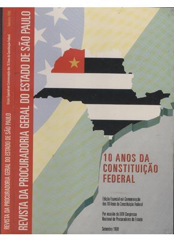 Revista da Procuradoria Geral do Estado de São Paulo - Setembro 1998