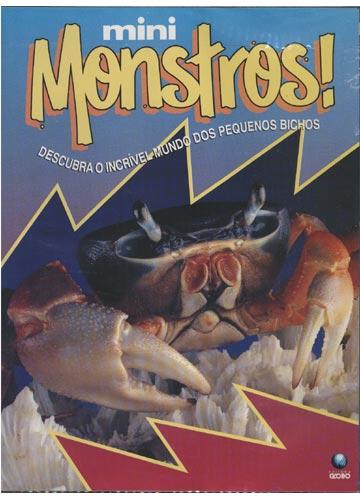 Mini Monstros! - Viúva Negra \ Colêmbolo \ Camarão Limpador