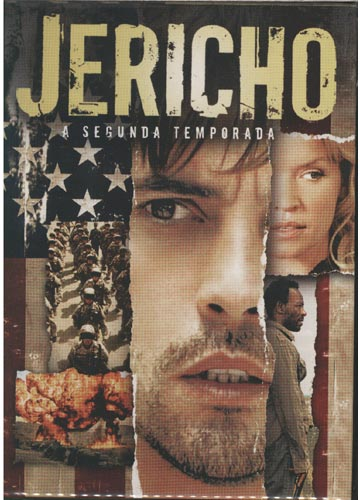Jericho - Segunda Temporada - Box 2 DVD's