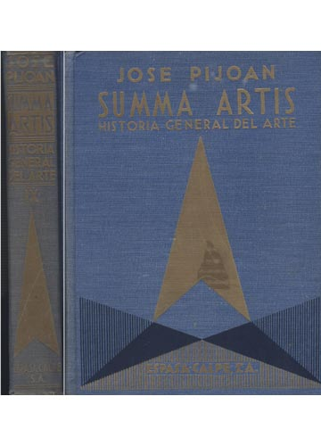 Summa Artis - Historia General del Arte - Volume 9