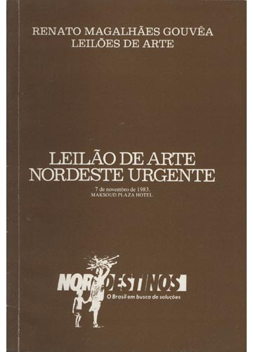 Renato Magalhães Gouvêa - Leilões de Arte - Leilão de Arte Nordeste Urgente