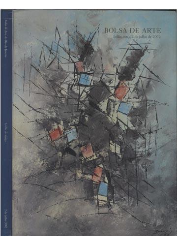 Bolsa de Arte do Rio de Janeiro - Leilão Março - 02 de Julho 2002