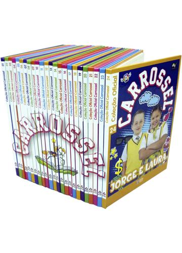 Coleção Oficial Carrossel - 24 Volumes