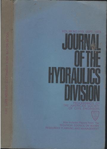 Asce Hydraulics Division - Sept. 1973 - Vol. 99 - No.Hy9.