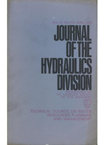 Asce Hydraulics Division - April 1975 - Vol. 101 - No.Hy4