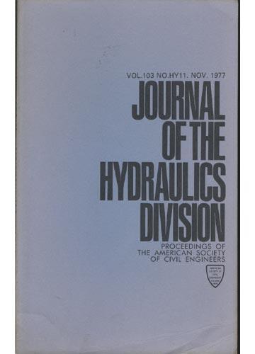 Asce Hydraulics Division - Nov. 1977 - Vol.103 - No.Hy11.